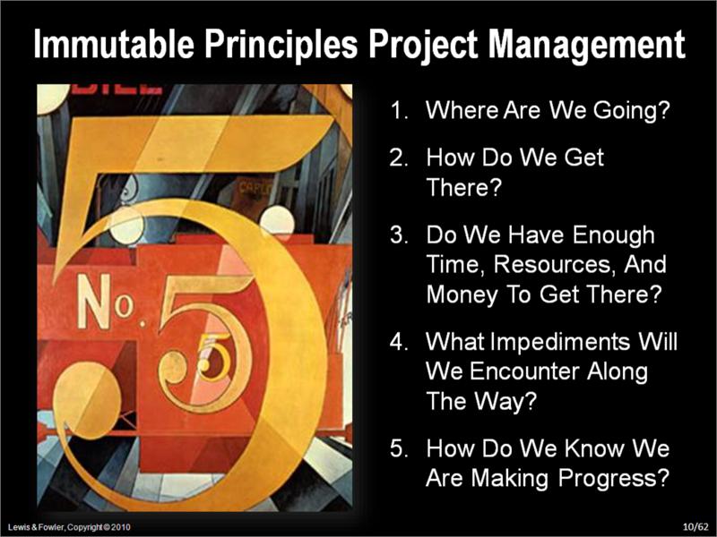 5 Immutable Principles