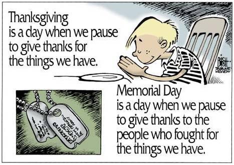 Memorial Day Thank You Veterans