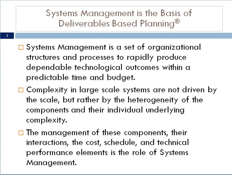 SystemsManagement