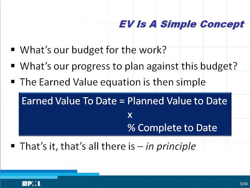 EV is a Simple Concept