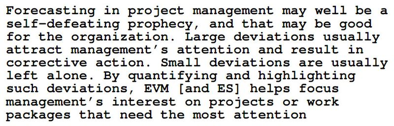 Project Forecasting
