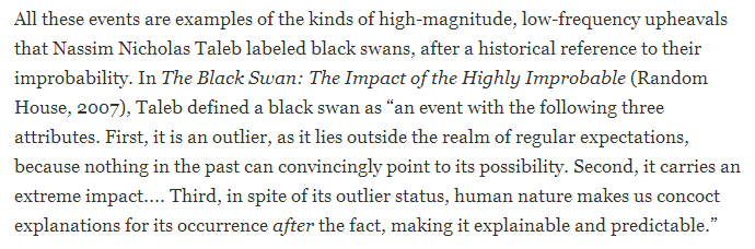 Black Swan Narrative