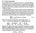 Tensors and metrics