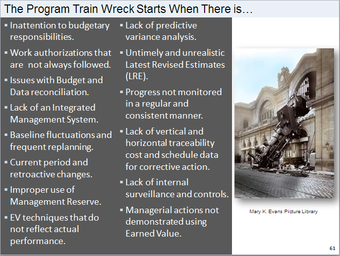Program Train Wreck