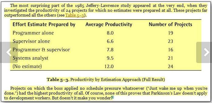 Estimating J-L Table