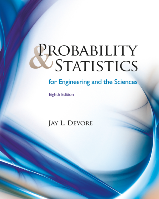 Probability & Statistics for Engineeting and the Sciences 8th Edition