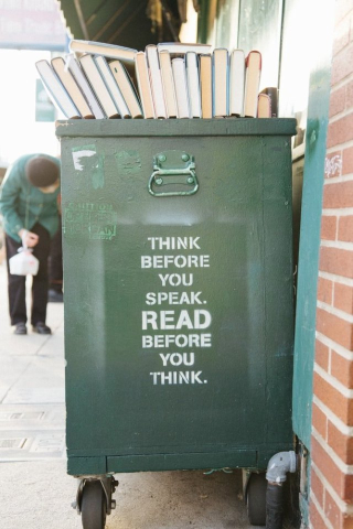 Think Before You Speak - Read Before You Think